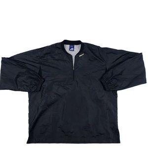 Mizuno 1/4-Zip Windbreaker Pullover